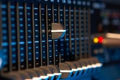 Equalizador audio fotos de stock royalty free