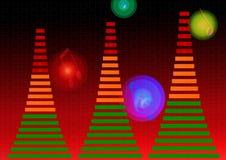 Equalizador audio Imagen de archivo libre de regalías