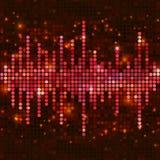 Equalizador cor-de-rosa do mosaico Imagem de Stock