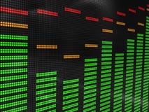 Equalizador da música Imagens de Stock