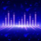 Equalizador de la frecuencia vocal Imagen de archivo