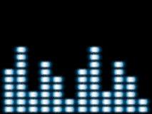 Equalizador de la música Stock de ilustración