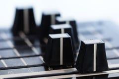 Equalizador de los sonidos foto de archivo libre de regalías