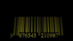 Equalizador do código de barras da dança video estoque