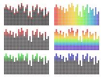 Equalizador do pixel Foto de Stock Royalty Free