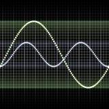 Equalizer. Seamless Background of Soundwave Equalizer Music Beats Stock Image