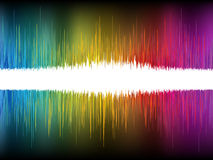Equalizer Abstract Sound Waves. EPS 8. File included Royalty Free Stock Photos