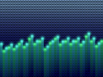 Equalizer  background Royalty Free Stock Image