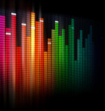 Equalizer background design Stock Photos