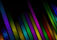 Equalizer background Stock Photo