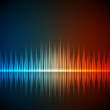Equalizer background Royalty Free Stock Images