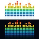 Equalizer icon,  illustrations Stock Photo