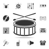 Equalizer icon. Music sound wave symbol icon. Detailed set icons of Music instrument element icons. Premium quality graphic design. One of the collection icons Royalty Free Stock Image