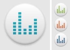 Equalizer icon Stock Image