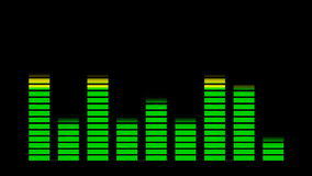 Equalizer for music  background stock video footage