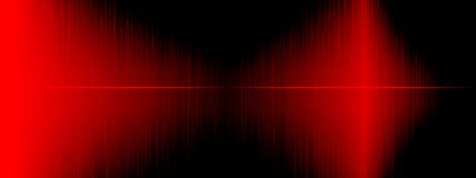 Equalizer, Sound wave , wave frequencies, light abstract background, Bright, laser. Red Sound waves oscillating. Abstract music. Equalizer, Sound wave , wave stock illustration