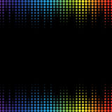Equalizer template Royalty Free Stock Photos