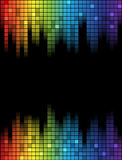 Equalizer template Royalty Free Stock Images