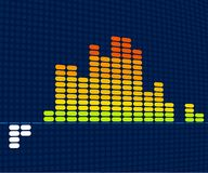 Equalizer (vector). Vector in CMYK mode. Global colors. Easy color changes Stock Image