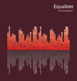 Equalizer Vector Background Stock Photo