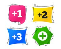 2_equals_1_icon vector illustratie