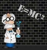Equation graffiti Stock Images