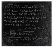 Equation Royalty Free Stock Images