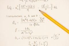 Equations Stock Photos