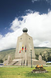Equator Marker   - Ecuador Royalty Free Stock Photo