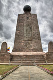 The equator at Mitad del Mundo Royalty Free Stock Image