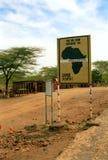 Equator, Nanyuki, Kenya. The Equator at Nanyuki, Kenya Royalty Free Stock Image