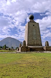 Equatoriaal monument Ecuador Royalty-vrije Stock Foto