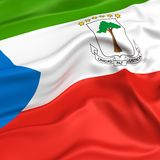 Equatorial Guinea  flag picture Royalty Free Stock Image