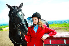Equestre Fotografia Stock