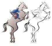 Equestre Fotografia Stock Libera da Diritti
