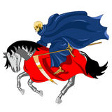 Equestrian of the Apocalypse. Death Royalty Free Stock Photography