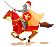 Equestrian of the Apocalypse,War Royalty Free Stock Images