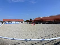 Equestrian arena in Georgenburg Stock Photography