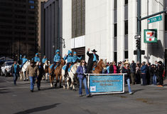 Equestrian Club - National Western Stock Show Parade Royalty Free Stock Photos