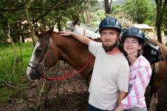 Equestrian Couple Stock Photos