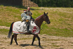 Equestrian Crusader Royalty Free Stock Photo
