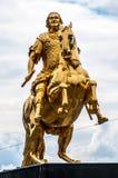 Equestrian dorato fotografia stock libera da diritti