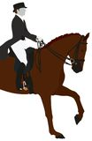 Equestrian Dressage Sport Royalty Free Stock Images