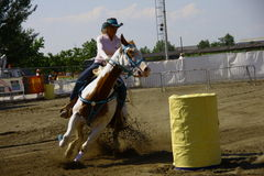 Equestrian event - du di country Royalty Free Stock Photo