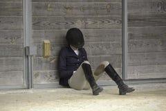 Equestrian fêmea imagem de stock