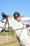 Equestrian girl Royalty Free Stock Image