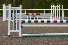 Equestrian Horse Jump Stock Photos