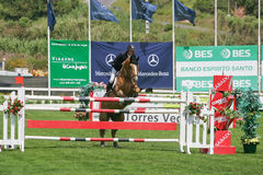 Equestrian International Show Jumping Stock Photos
