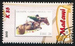 Equestrian. MALAWI - CIRCA 2012: stamp printed by Malawi, shows Equestrian, circa 2012 Stock Photo