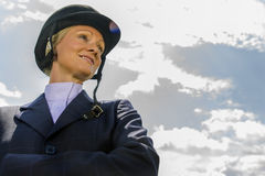 Equestrian Model Royalty Free Stock Images